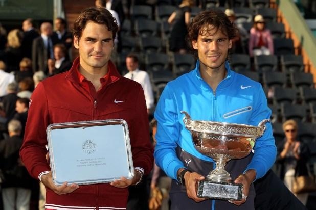 Rafael Nadalvenció a Roger Federeren la final de Roland Garros 2011 (Getty Images)