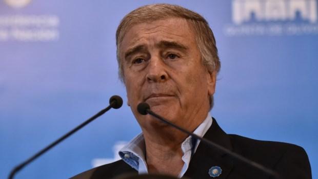 El ministro de Defensa Oscar Aguad (Adrián Escandar)