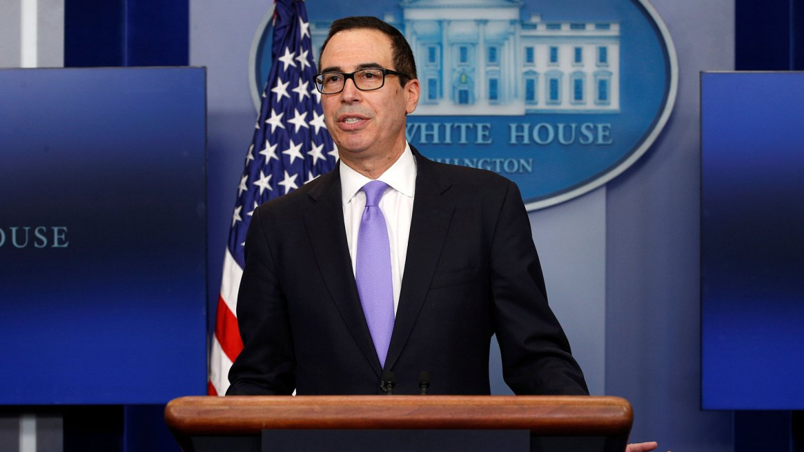 Steven Mnuchin, secretario del Tesoro de EEUU (Reuters)