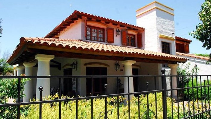 La casa en Villa Golf donde se cometió el crimen y donde vive Marcelo Macarrón