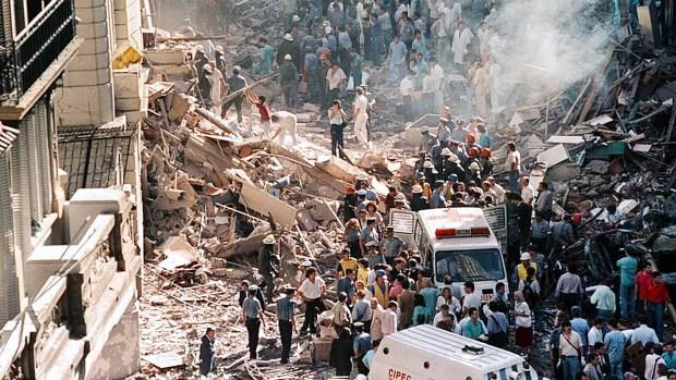 El 17 de marzo de 1992 tuvo lugar un atentado en la Embajada de Israel. (NA)