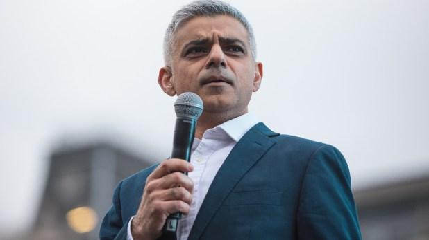 El alcalde de Londres Sadiq Khan ha tenido cruces con el presidente Trump (Getty Images)