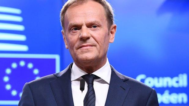 Donald Tusk, presidente del Consejo Europeo (AFP)