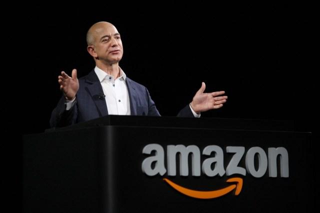 Jess Bezos, creador de Amazon y dueño de The Washington Post (Archivo)