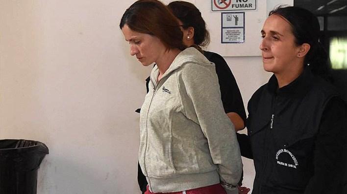 La autopsia reveló que Florencia Di Marco tenía lesiones que evidenciaban que era abusada en reiteradas ocasiones (Gentileza Los Andes)