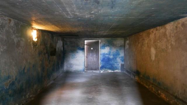 Cámara de gas del campo de exterminio Majdanek