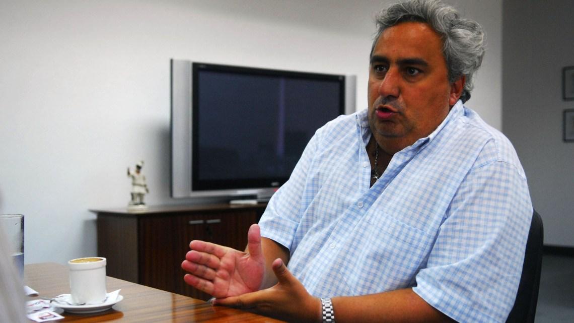José María Aguilar, ex presidente de River (Foto: Télam)