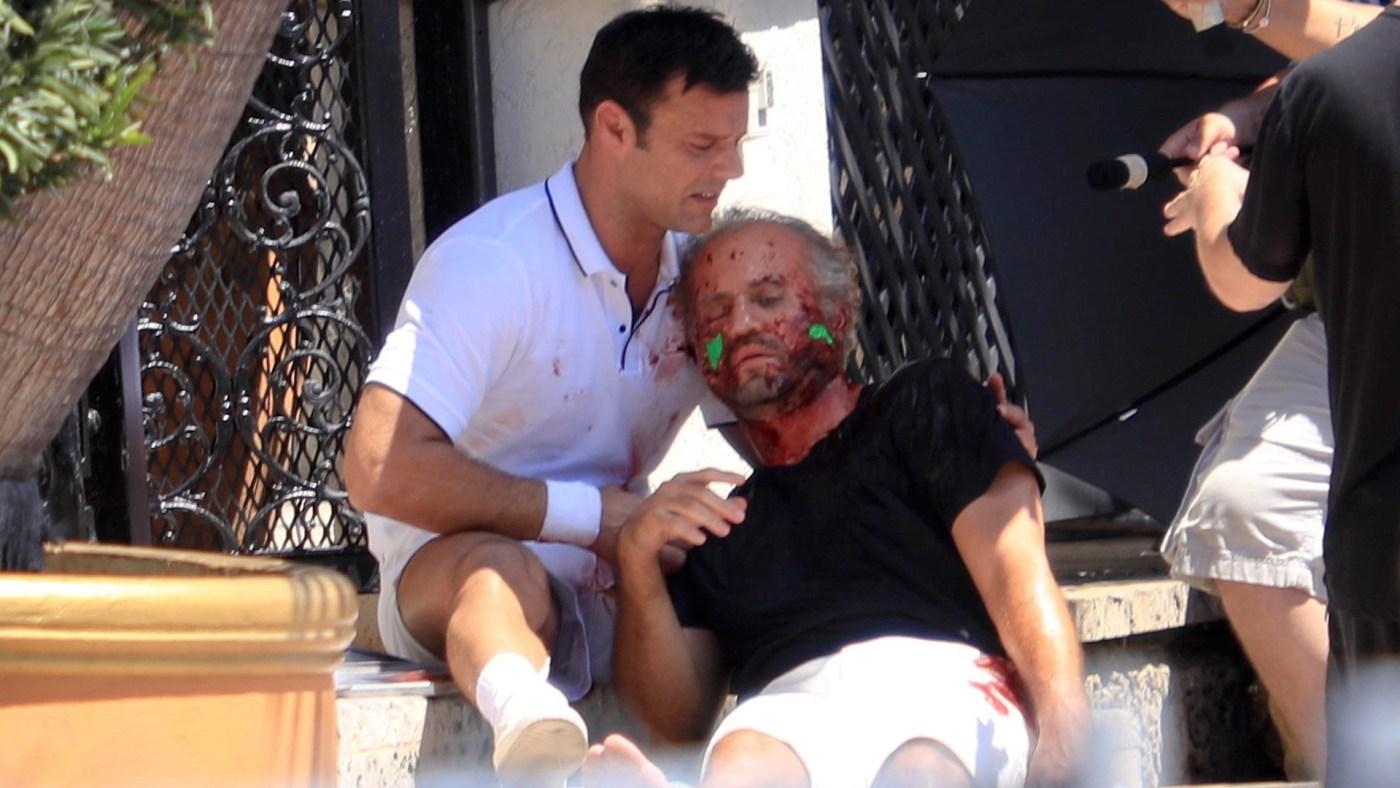 Ricky Martin como Antonio D'Amico en The Assassination of Gianni Versace