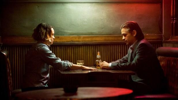 """Escena de """"True Detective segunda parte"""", protagonizada por Amy Adams y Colin Farrell"""