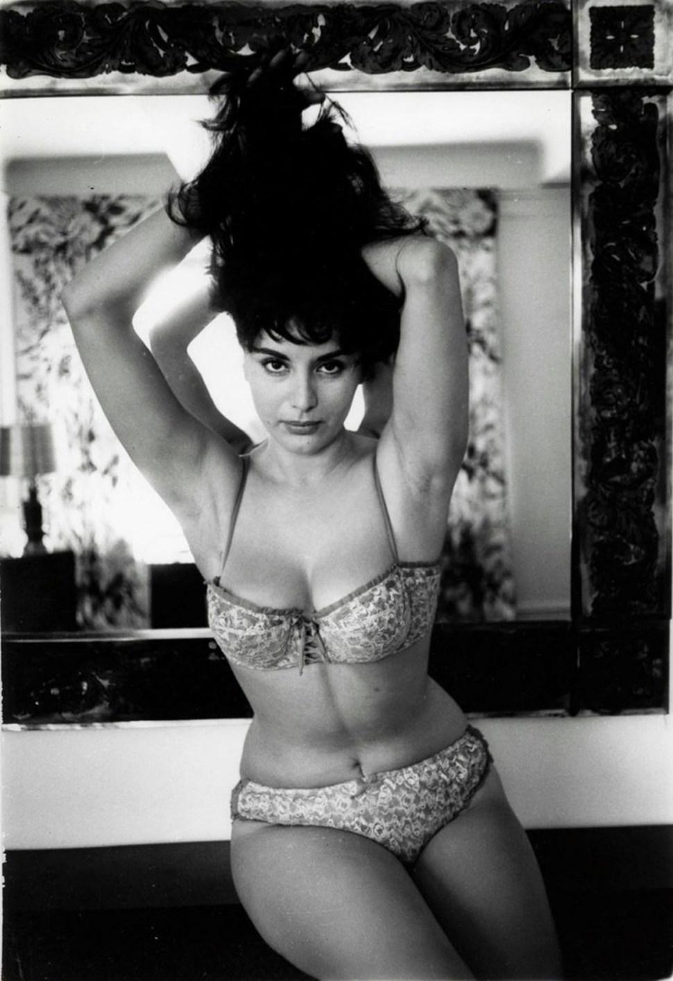 La actriz confesó que en su vida era tímida, pero que frente a las cámaras se transformaba en una mujer sexy y muy erótica