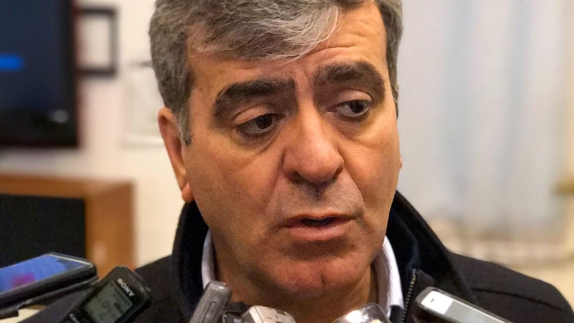 El diputado José Cano