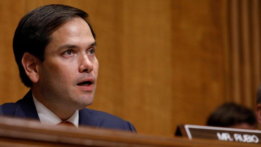 Marco Rubiodio detalles de la crisis venezolana en el Senado de EEUU(Reuters)