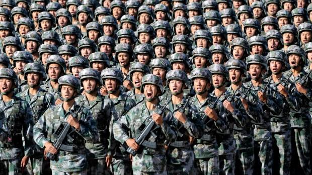 El inmensamente poblado Ejército chino es una de las instituciones en la mira de la campaña anticorrupción