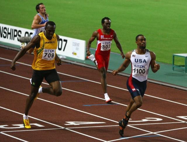 Tras superar varias lesiones,Usain Bolt volvió a la acción en el Mundial de Atletismo de Osaka2007 (Getty Images)