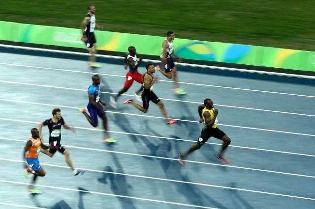 Los últimos Juegos Olímpicos deUsain Bolt fueron en Rio de Janeiro en 2016, donde volvió a ganar las medallas doradas en los 100 y 200 metros (Getty Images)