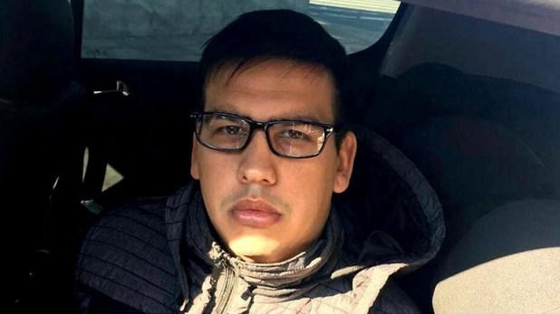 Ramón Ezequiel Machuca cuando fue detenido