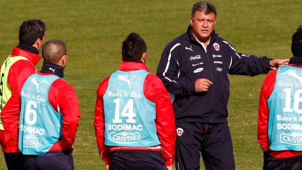 Borghi dirigió solo un año a la selección de Chile (Getty)