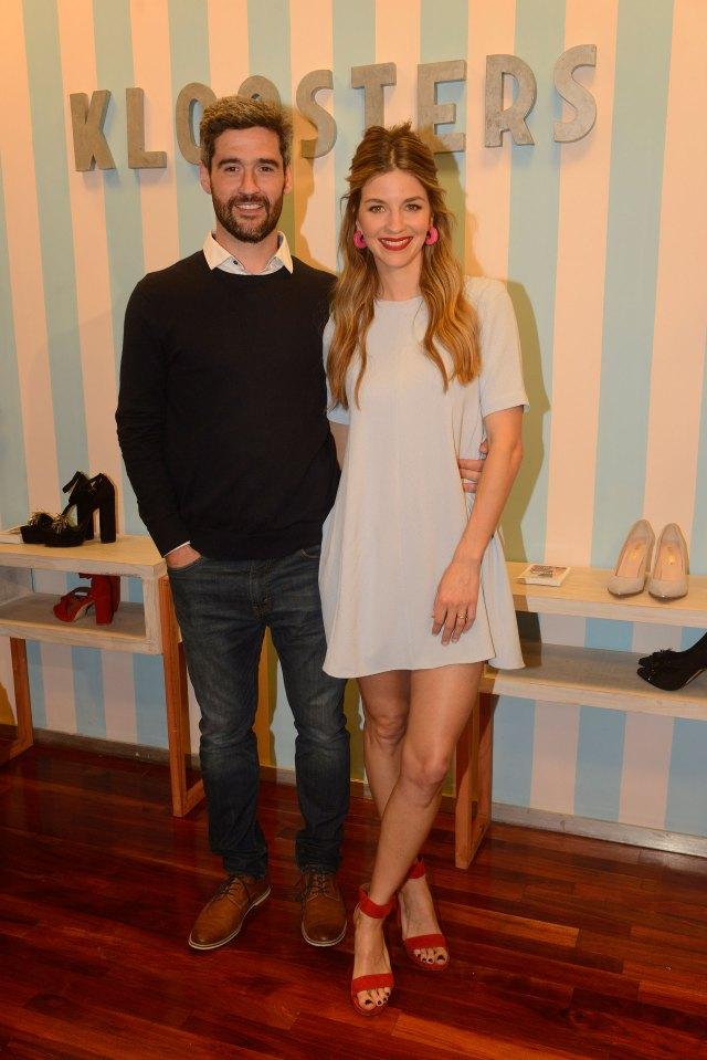 Con su marido Fernando Sieling. Foto: Fabián Mattiazzi/GENTE