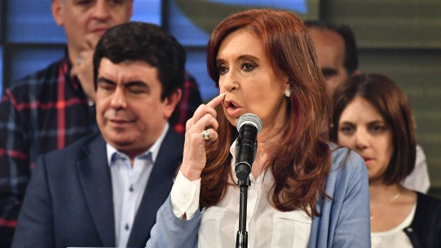 Cristina Kirchner también jurará hoy en el Senado (Amilcar Orfali)