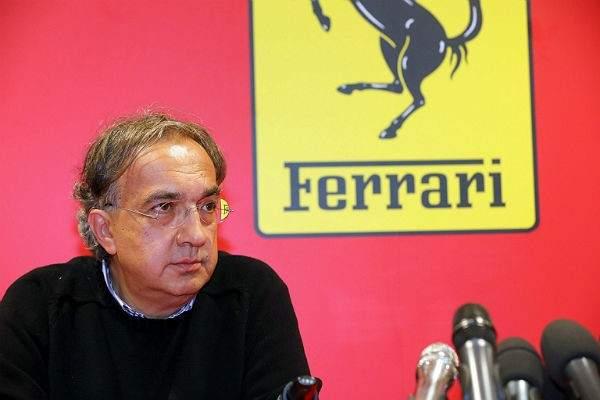 Sergio Marchionne, presidente de Ferrari, fue quien habló de irse y crear otro campeonato