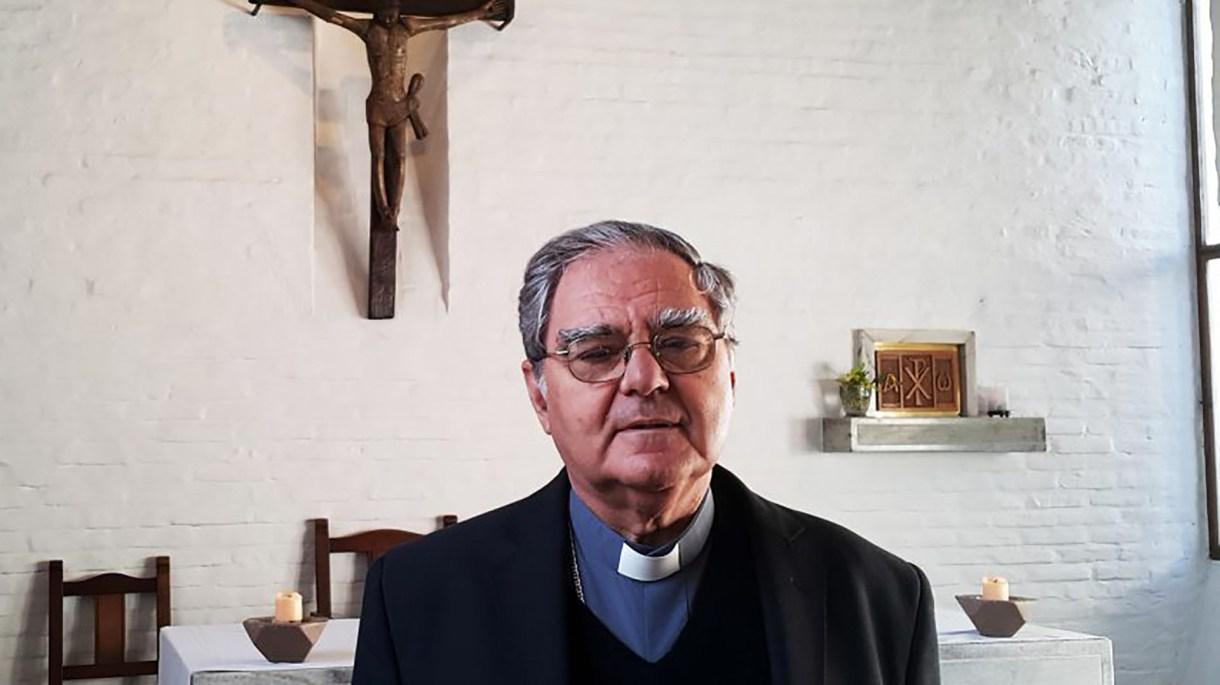 El obispo Oscar Ojea,titular de la Conferencia Episcopal Argentina (CEA)