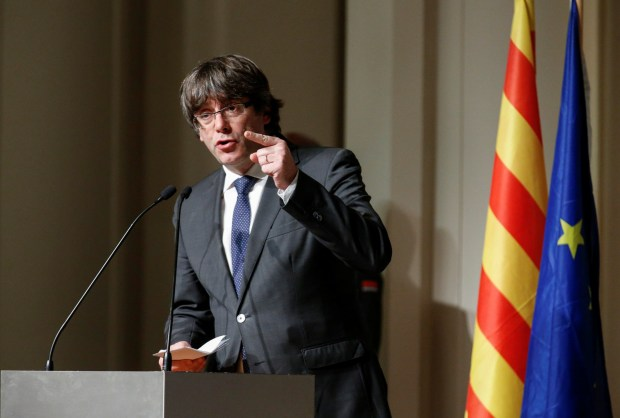 Carles Puigdemont (REUTERS/Pascal Rossignol)