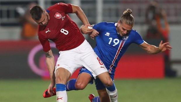 Islandia perdió ante República Checa en un amistoso jugado en Qatar (Getty)