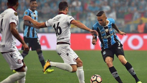 Gremio se impuso en la ida por 1 a 0 (AFP)
