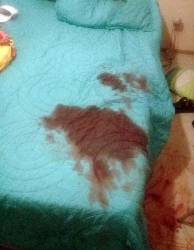 La mancha de sangre en la cama de Micaela Barattini
