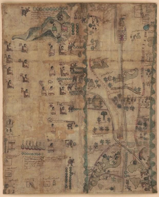 El histórico Códice Quetzalecatzin, disponible en línea. (LOC)