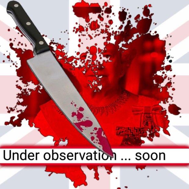 """""""Bajo observación, pronto"""", dice la amenaza a la regente británica"""