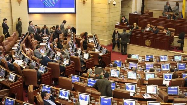 La Cámara de Representantes de Colombia