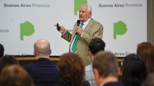 El presidente del Tribunal de Cuentas, Eduardo Grinberg