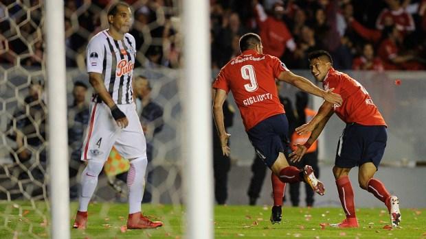 Independiente accedió a la final de la Copa Sudamericana (AFP)