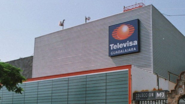 La sede de Televisa en Guadalajara