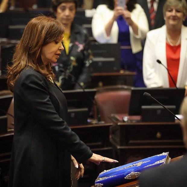 La ex Presidente obtuvo una banca por la provincia de Buenos Aires