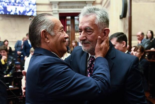 Adolfo Rodríguez Saá y Alberto Rodríguez Saá