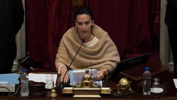 La vicepresidente Gabriela Michetti presidió la sesión especial de jura