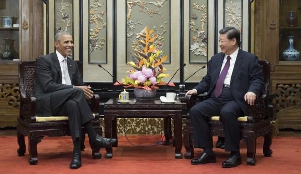Barack Obama y Xi Jinping (Xinhua via AP)