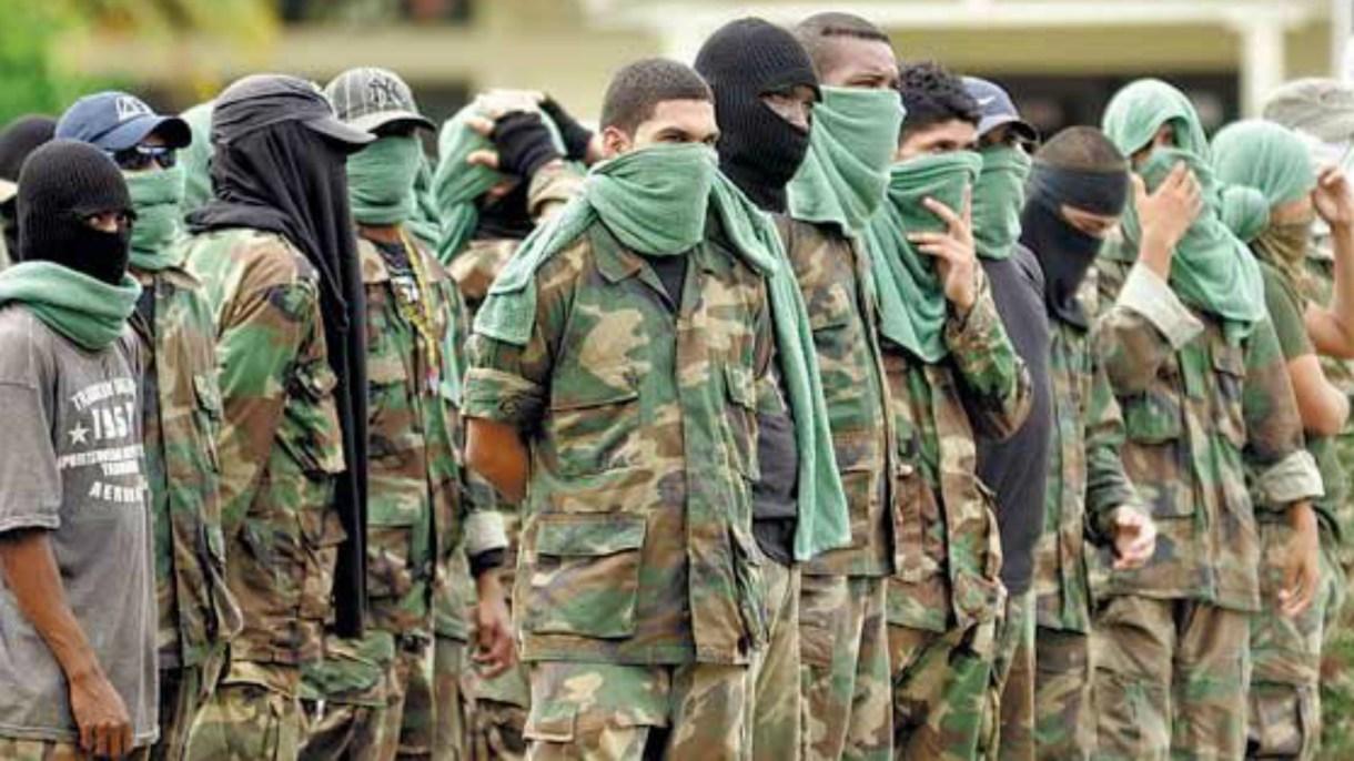 Alias 'Ernesto', 'Platino' y 'Cometa' pertenecieron a las Autodefensas Unidas de Colombia (AUC) y tras la desmovilización en 2006 siguieron delinquiendo.