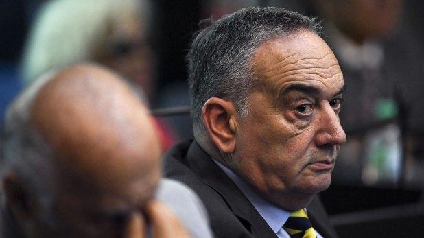 El ex comisario Palacios (AFP)