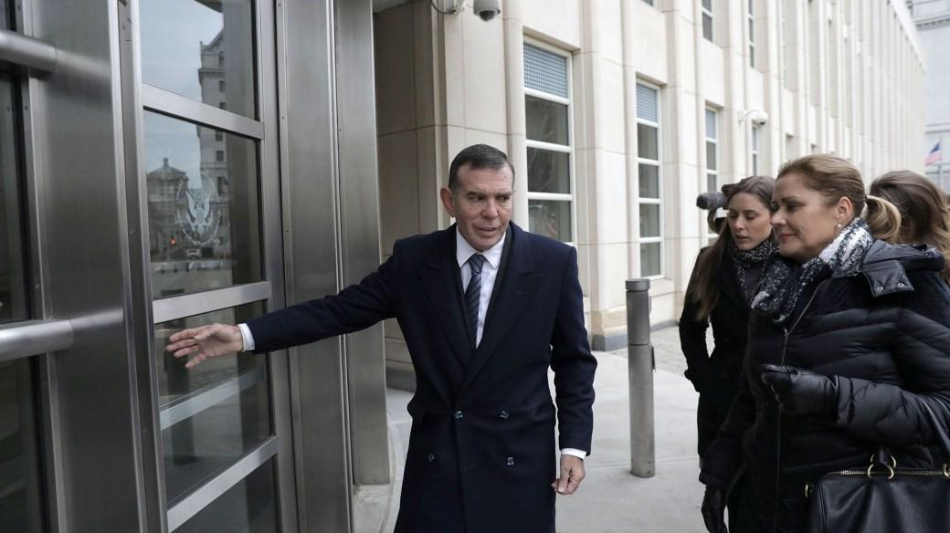 Napout frente a la Corte Federal de EEUU en Brooklyn el 22 de diciembre de 2017 (REUTERS/Stephen Yang)