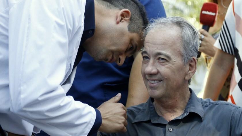 Ponce y Wolek, médico y paciente, se convirtieron en grandes amigos