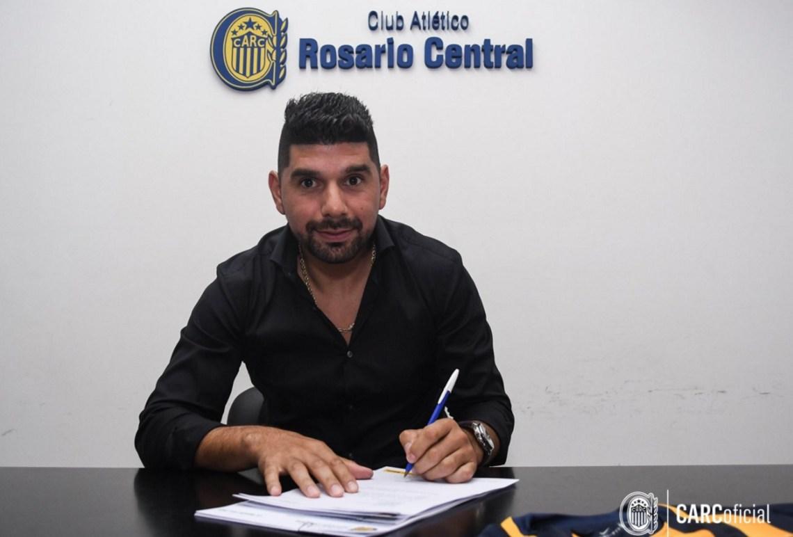 Ortigoza firmó contrato por 18 meses (Central oficial)