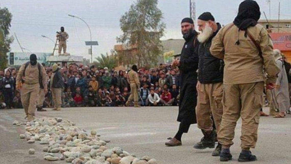 Una de las fotografías difundidas por el aparato de propaganda de ISIS
