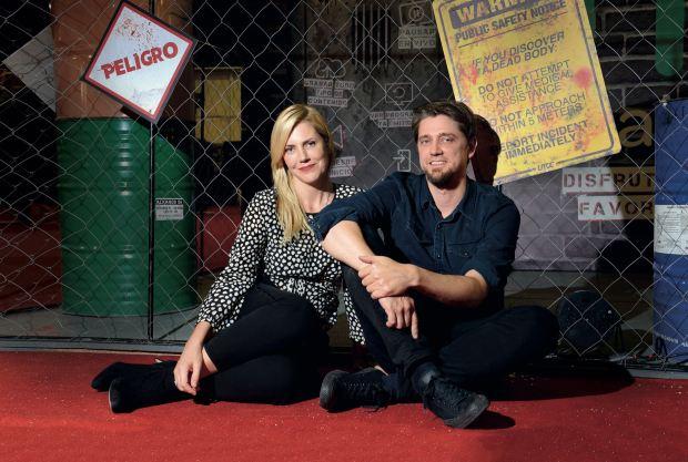 Andy y Bárbara Muschietti Fotos: Maximiliano Vernazza