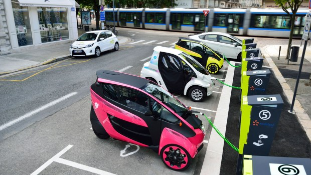 El servicio Ha:mo de Toyota se probó de manera exitosa en Grenoble, Francia