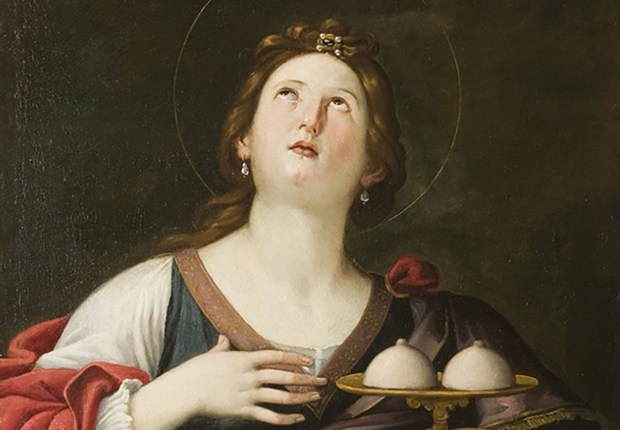 Santa Ágata, mártir de las lolas