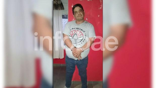 Humberto Monteros, detenido en su casa de Monte Hermoso