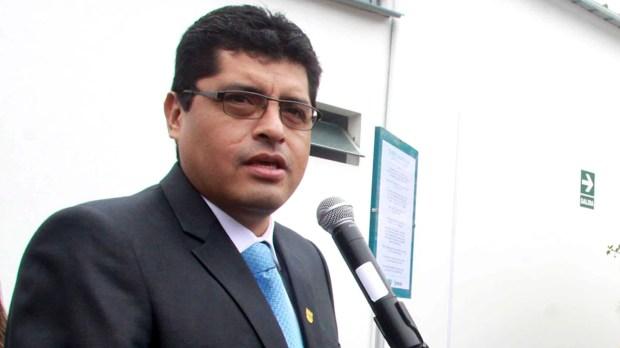 Roberto Gómez Baca, alcalde de Surco, Lima